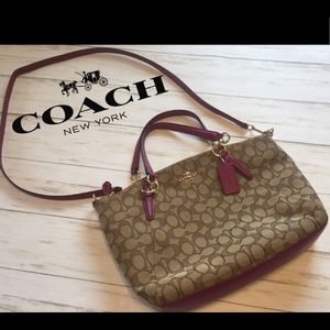 Coach Signature Kelsey Satchel